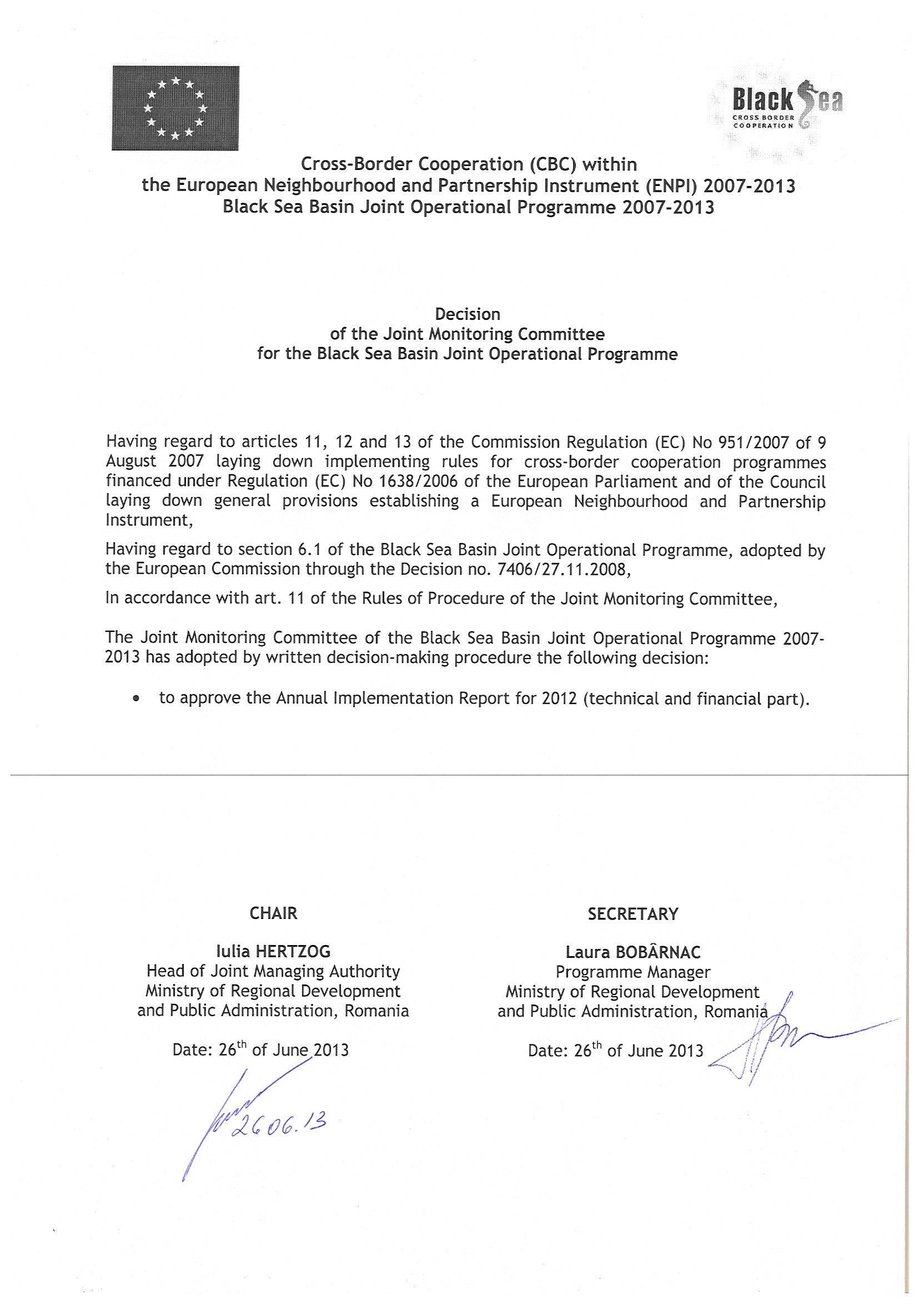 130626 JMC Decision AIR 2012