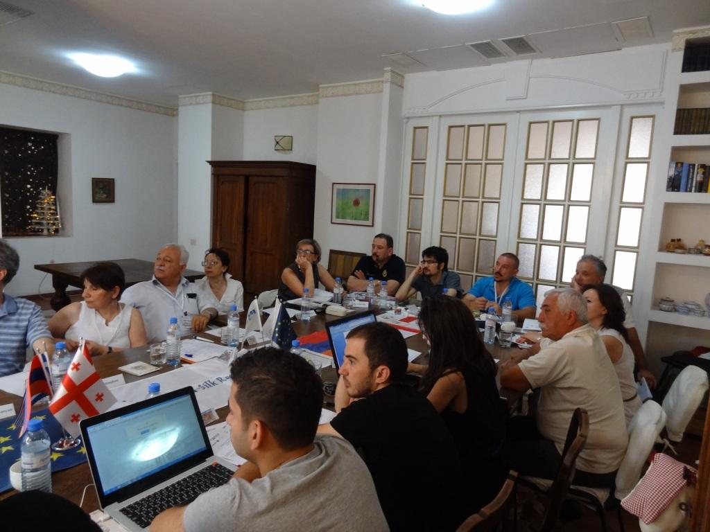 Management meeting in Armenia