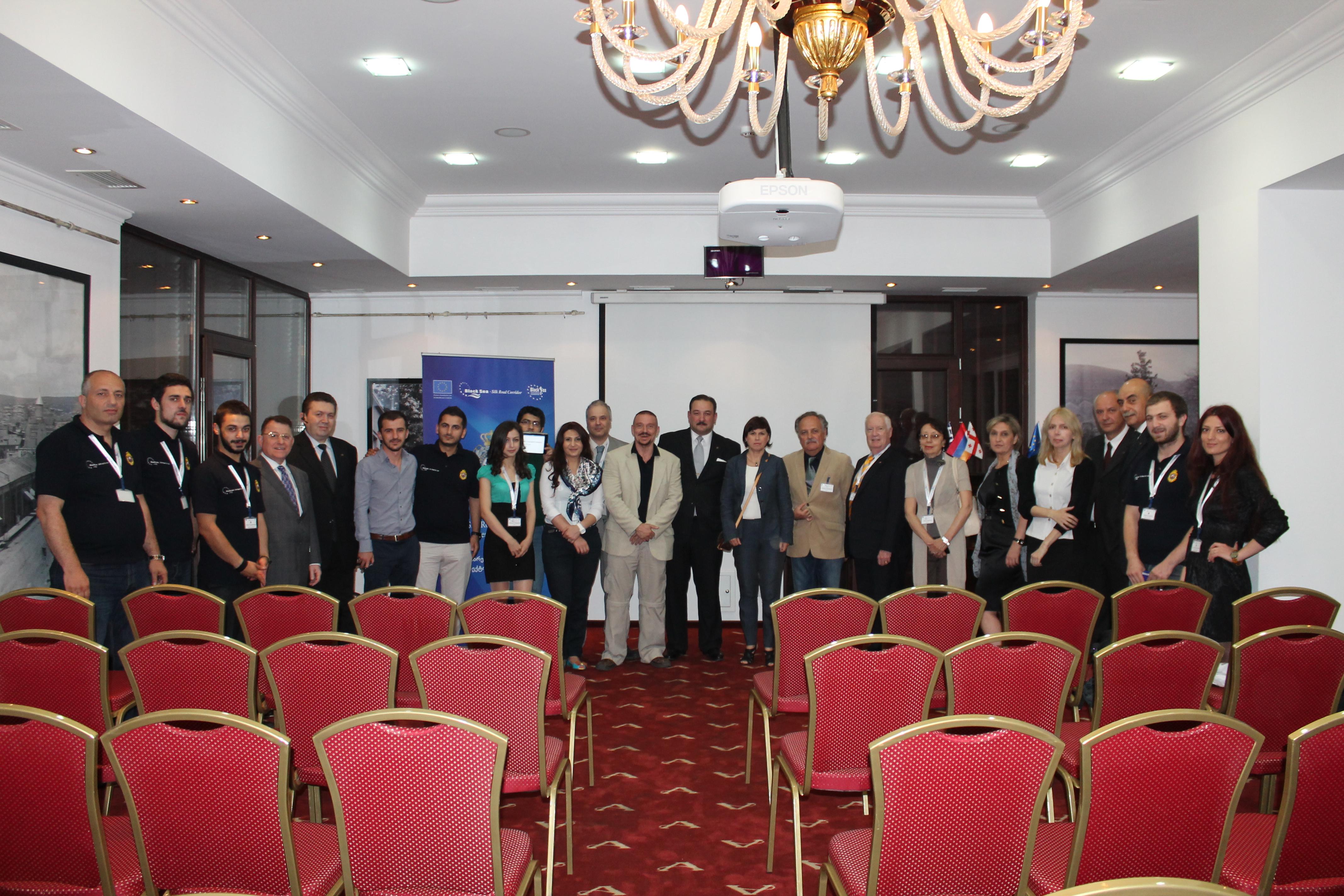 Management meeting in Georgia