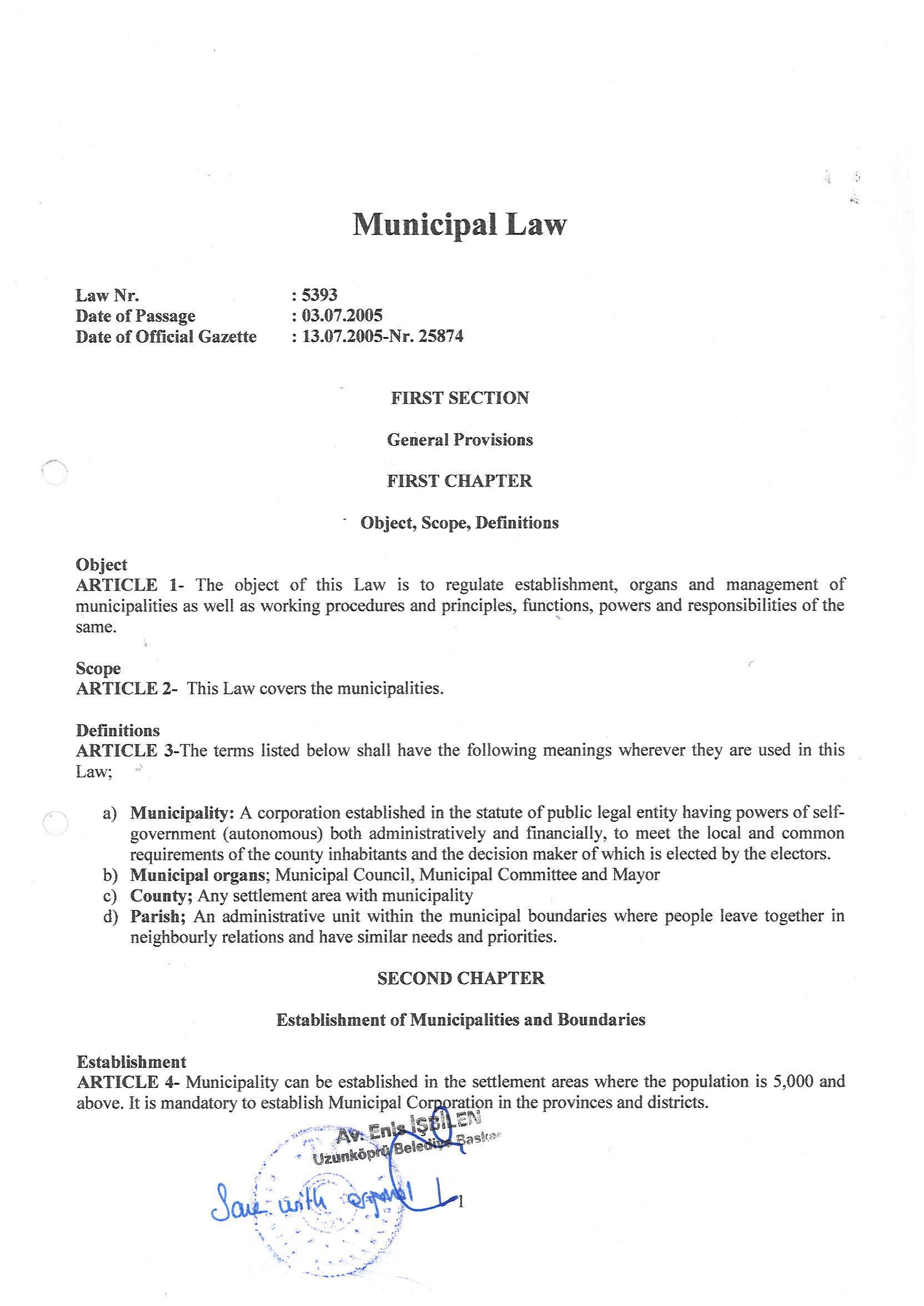 Registration Act - I part