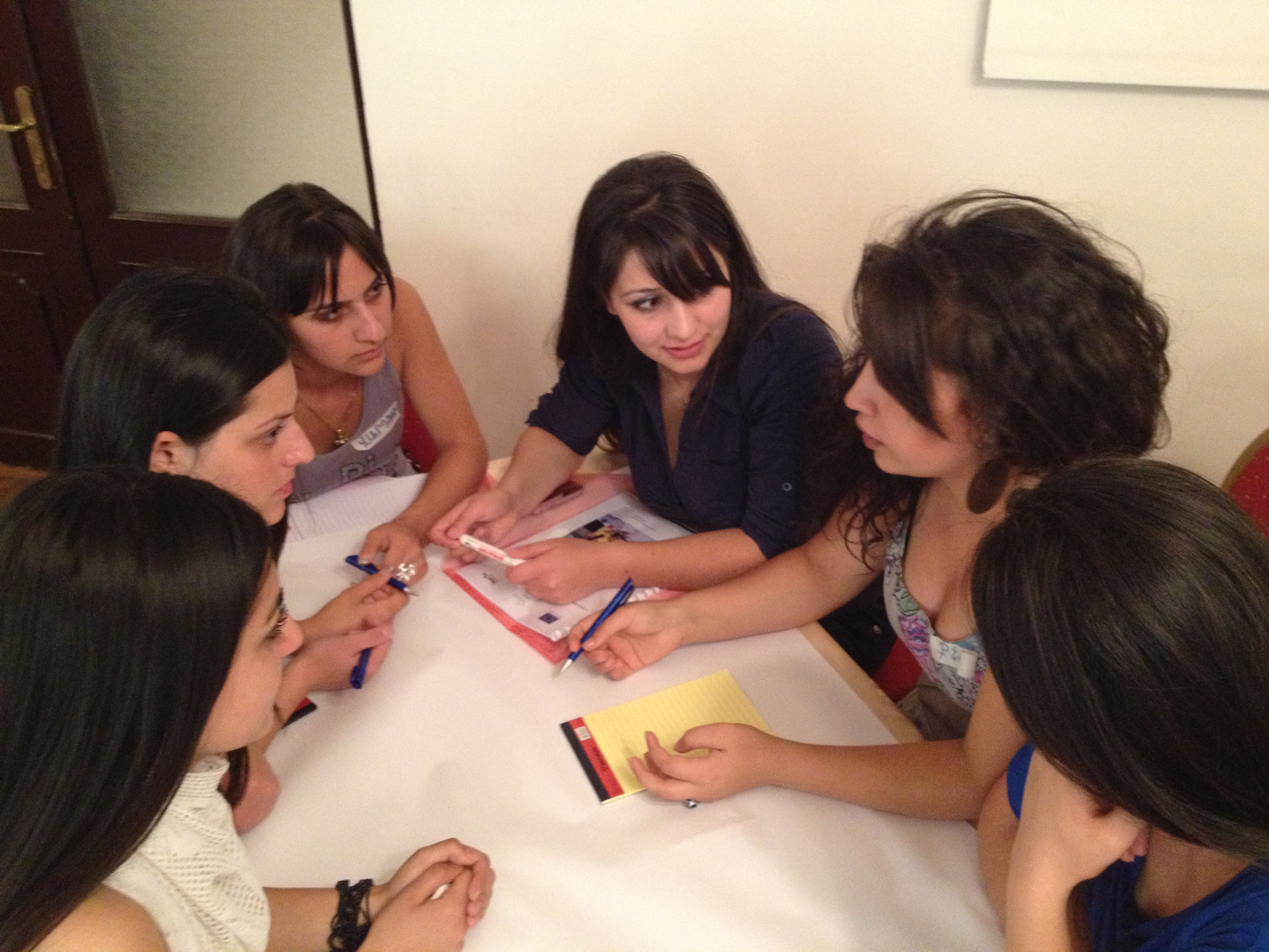 YARCC_Youth Training on Shared Values  Yerevan_Preparing a Poster (3) - Copy