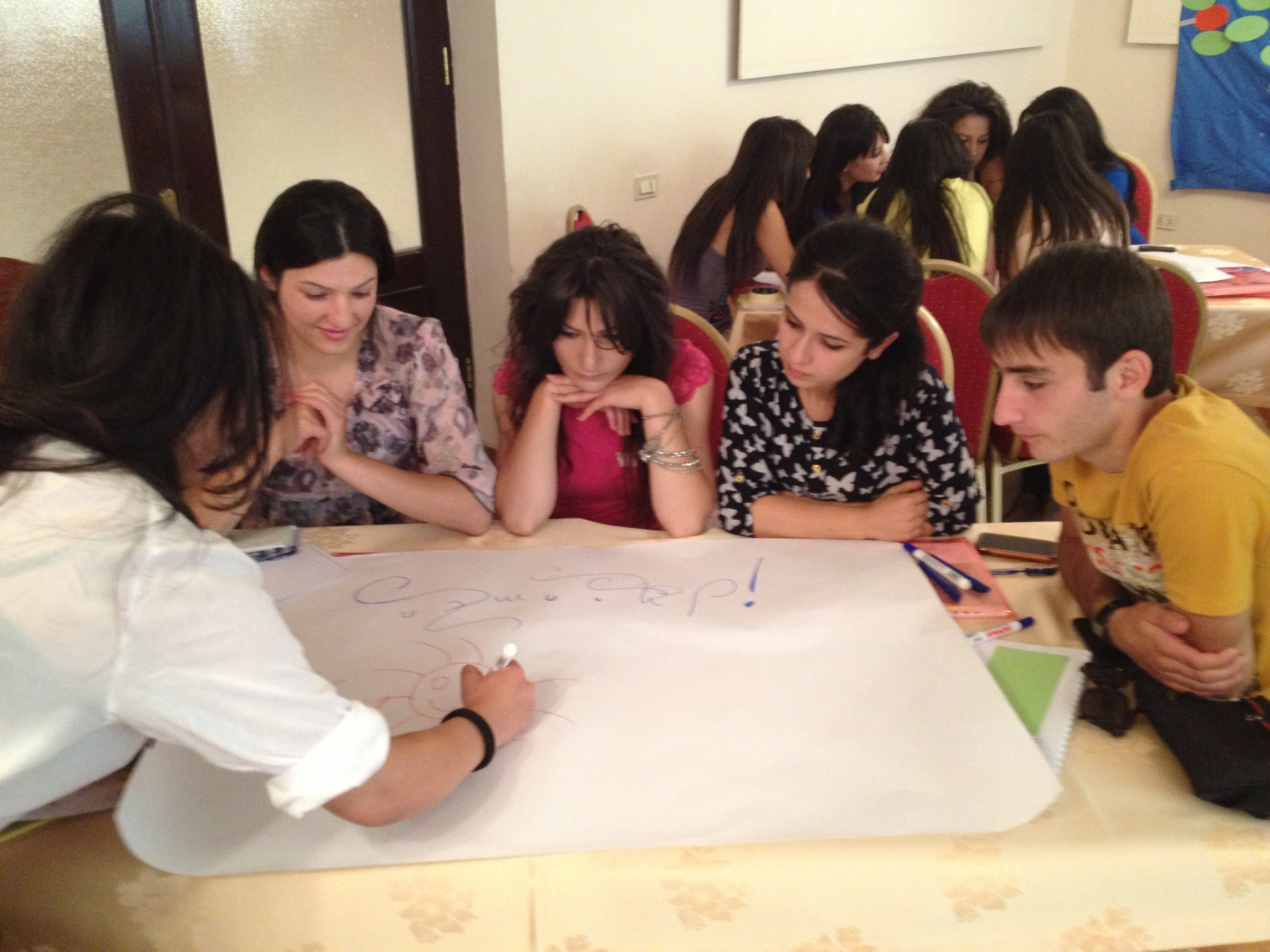 YARCC_Youth Training on Shared Values  Yerevan_Preparing a Poster (4) - Copy